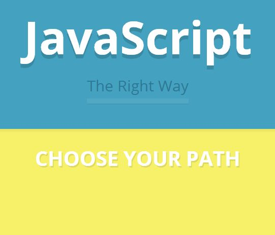 JavaScript - The Right Way