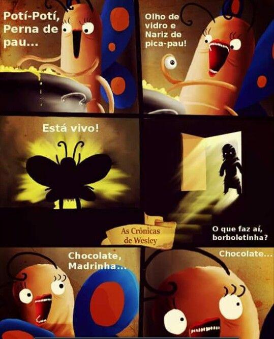 Brobolrtinha traumatisando nossa infância pra sempre