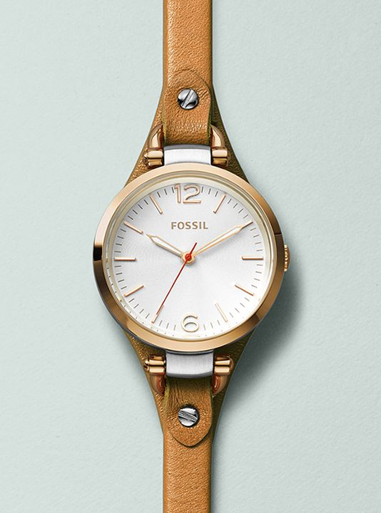 Fossil Georgia Brown Leather Strap Watch http://www.fossil.com/en_US/shop/women/watch_collections.html?parent_category_rn=331106&departmentCategoryId=331097&crlt.pid=camp.5KiGXBoB4Ulm