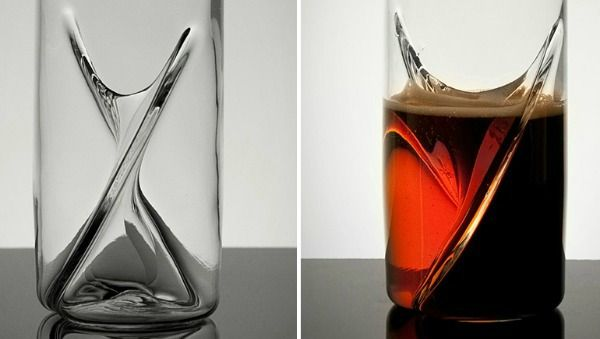 This Glass Lets You Drink Two Different Beers at the Same Damn Time |Foodbeast