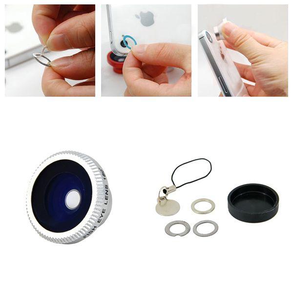 Compre Lente Fisheye Olho de Peixe 180 graus Super Gadgets para Celular Tablet na Super Gadgets com Tranquilidade