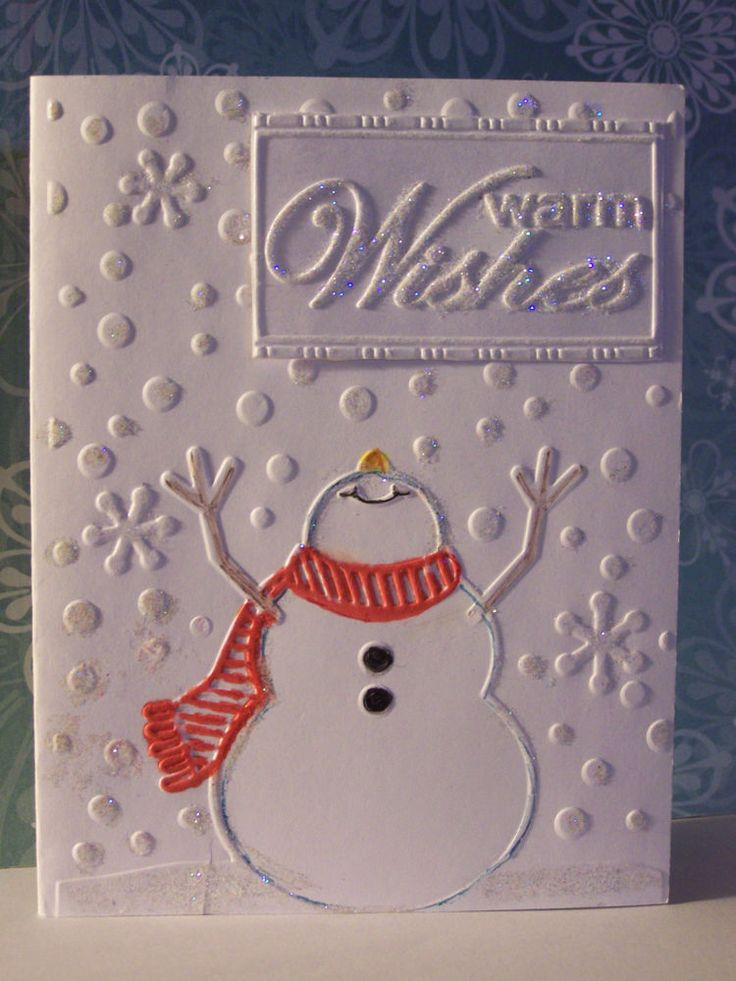 366 best christmas cards 3 images on pinterest christmas cards darice embossing folder let it snow snowman great for christmas cards cards diyxmas solutioingenieria Image collections