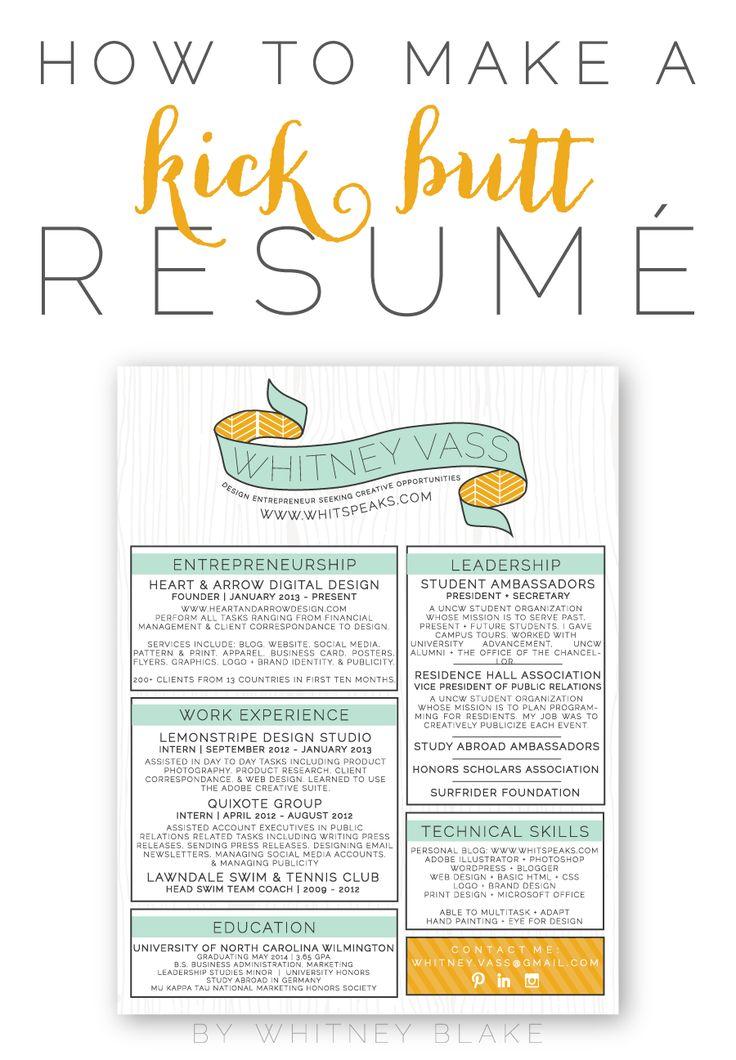 17 best The Art of Resume Writing images on Pinterest Gym, Resume - i need to make a resume