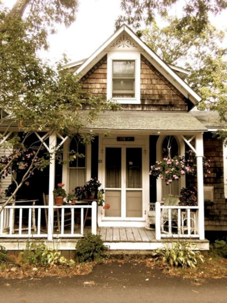 42 Stunning Exterior Home Designs: 42 Stunning Small Cottage House Decorating Ideas