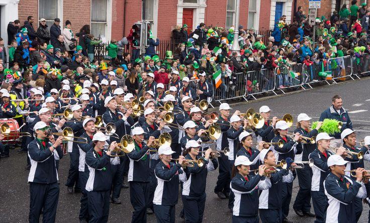 CORONADO HIGH SCHOOL MARCHING BAND - From: Nevada, USA - Director: Mr. Benjamin Franke. 2015 St. Patrick's Parade in Dublin