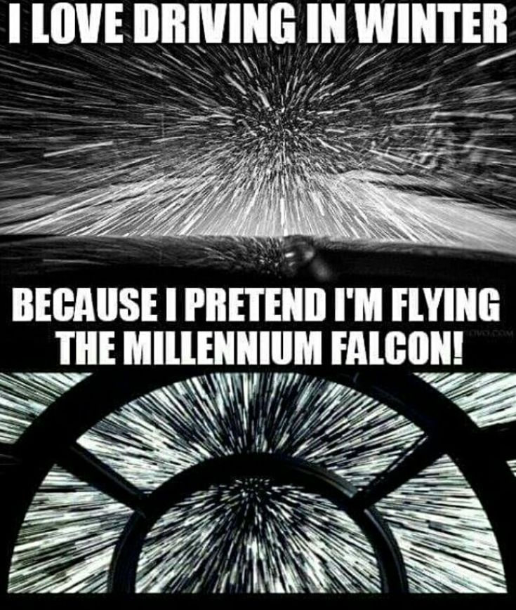 my car IS the Millennium Falcon what are you talking about?