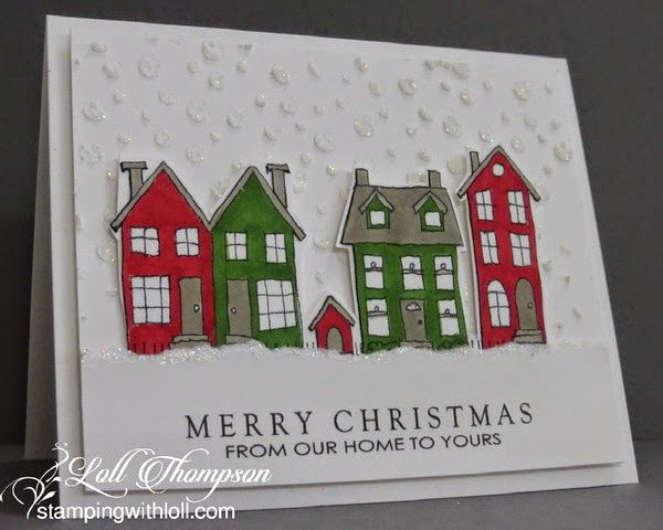 Hi everyone. Time for the next challenge at Mixed Media Card Challenge #6 (Home ... with...
