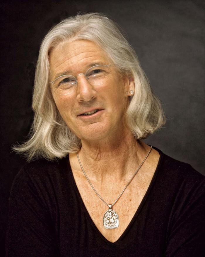 Celebrity Gender Swap Photos: Richard Gere