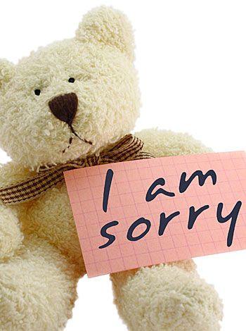 Educar a los niños a pedir perdón