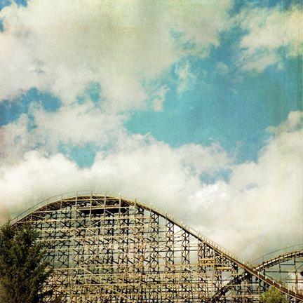 The Monster, La ronde - Montreal landmark Photograph. $60.00, via Etsy. Places you love on your wall make for great and meaningful art!