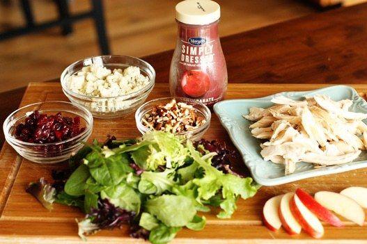 DIY Wendy's Apple Pecan Chicken Salad
