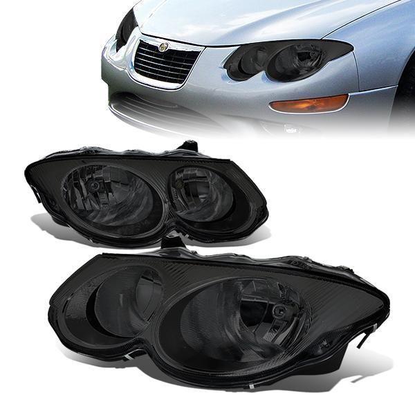 99 04 Chrysler 300m Headlights Smoked Housing In 2021 Chrysler 300m Chrysler Chrysler Crossfire