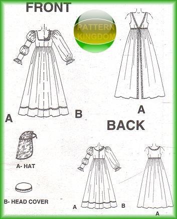 italian Renaissance dress   Details about Italian Renaissance Dress/Gown Pattern Medici SCA 8-12