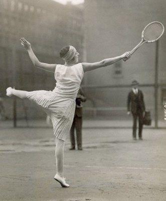 Suzanne Lenglen, 1920s Tennis Icon