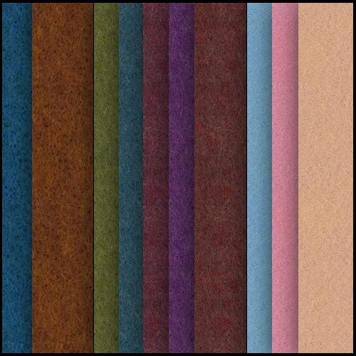 Download Free Seamless Felt Texture Materials. Texture Your 3D Clothes & Cloth with Free Tiling Felt Fabric Patterns in Green, Blue, Red, Pink, Orange...