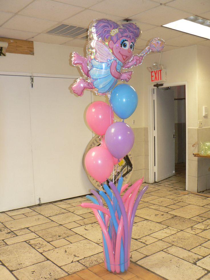 abby cadabby baby party: Abbie Cadabbi, Cadabbi Balloons, Birthday Idea, 1St Birthday, Party Idea, 3Rd Birthday, 2Nd Birthday, Bday Idea, Balloons Idea