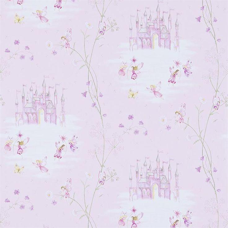 Little Sanderson Wallpaper Abracazoo Fairy Castle Collection 214046 214046