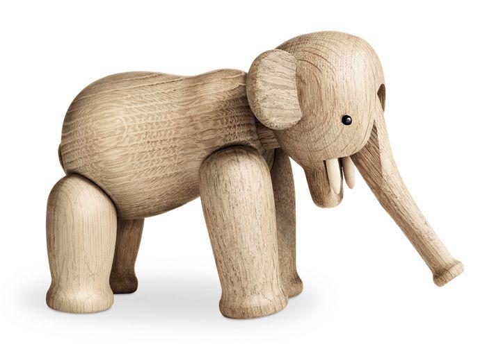 Elefant Aus Holz Von Kay Bojesen I Holztiere Elefanten Und