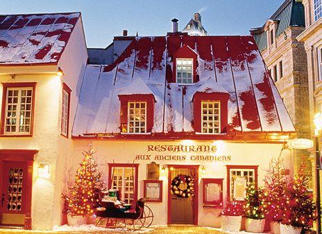 Restaurant Aux Anciens Canadiens. // Nous étions les Canadiens Français et on est devenus les Québécois du Pays du Québec. // quebec city fun   Quebec City has long been on my list of places to visit. It looks like ...