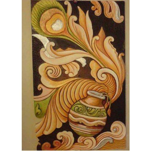 3d siporex mural paintings 1 pinterest 3d mural art for Clay mural painting
