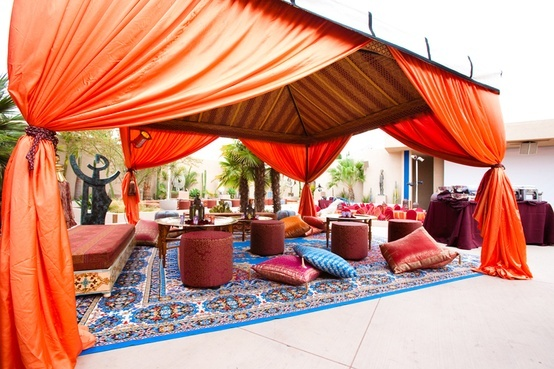 27 best images about moroccan nights on pinterest for Outdoor party tent decorating ideas