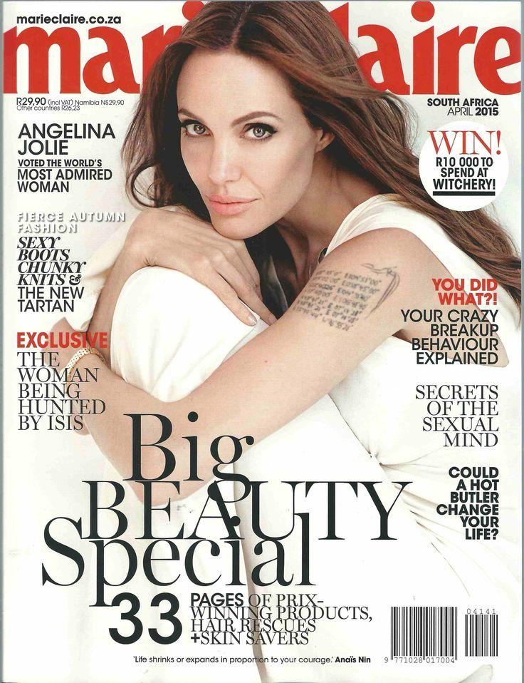#DrGobacCosmeceuticlas #Media #MarieClaireMagazine #AngelinaJolie #Exfoliating Masque #Beauty #Awards