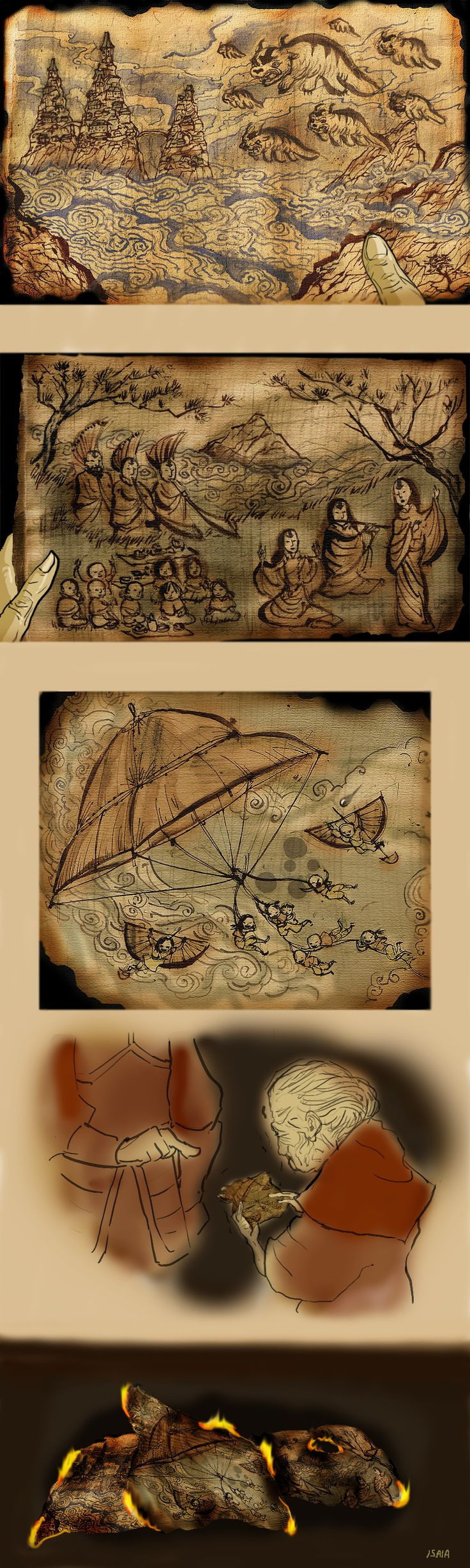 all that's left of the Air Nomads...: Airbender Korra, Chinese Drawings, Deviantart, Airbender Legends, Avatar Art, Cool Art, Air Nomadic, Isaia, Drawings Style
