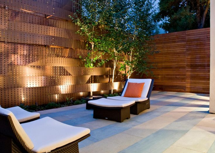 Modern patio design of pacific heights with garden lighting by randy thueme design inc landscape architecture 10 awesome modern patio design ideas for your