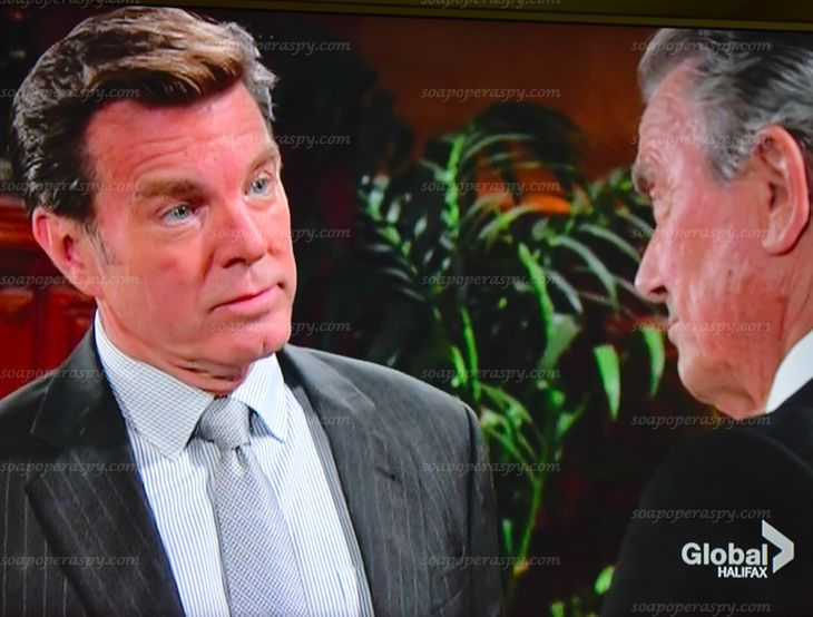 'Young and the Restless' (Y&R) Tuesday September 2: Victor Sues Chelsea, Jack Warned of Looming Peril, Sharon Admits Not Taking Meds
