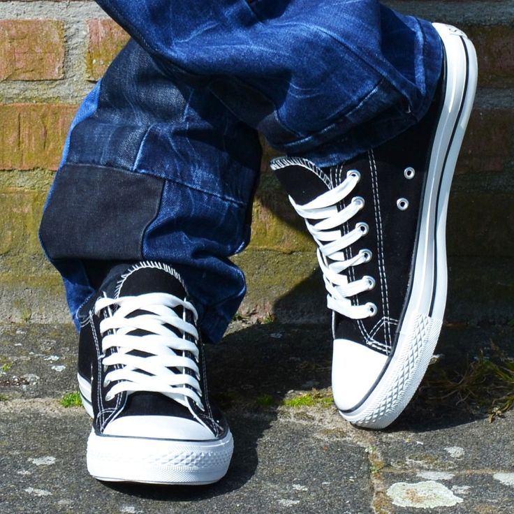 Low sneakers black €17,99 http://mymenfashion.com/low-sneakers-black.html