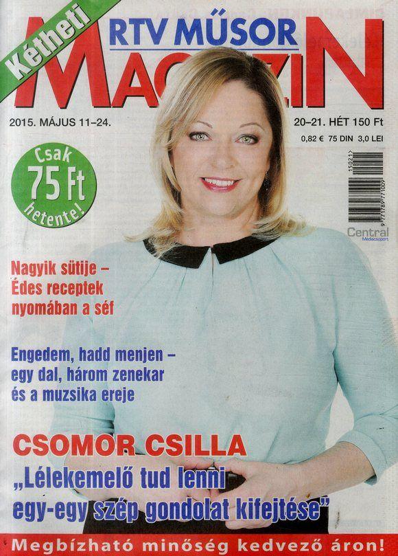 Csomor Csilla (2015.05.11. Kétheti rtv műsormagazin)