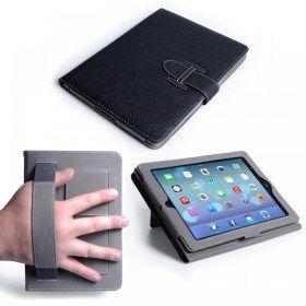 Caseflex Θήκη Hand Strap and Stand Case (AP-GA02-Z315) - Black (iPad mini / mini Retina / mini 3)