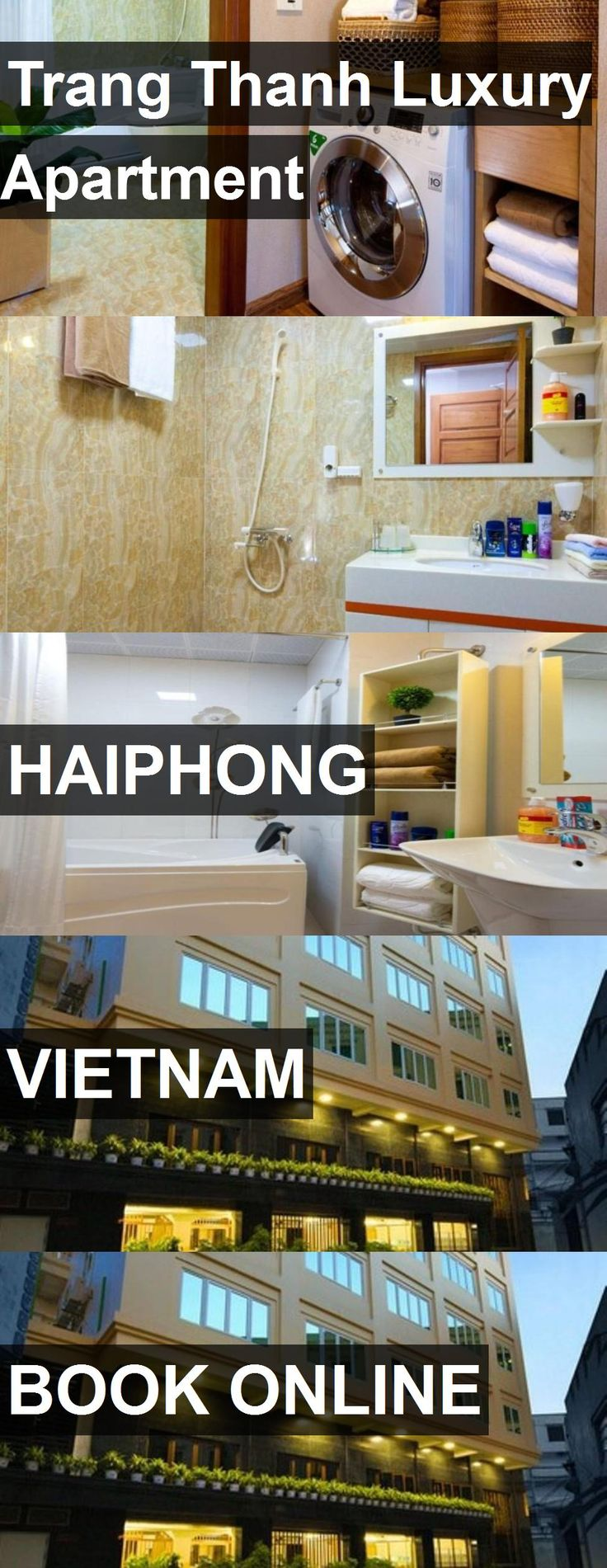 Hotel Trang Thanh Luxury Apartment in Haiphong, Vietnam. For more information, photos, reviews and best prices please follow the link. #Vietnam #Haiphong #TrangThanhLuxuryApartment #hotel #travel #vacation