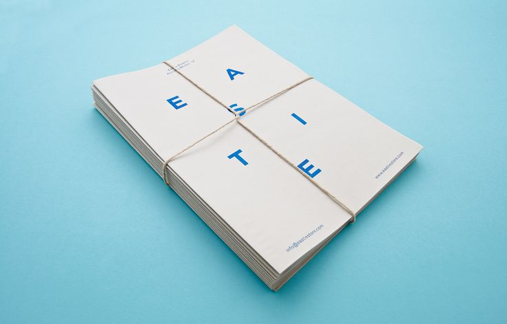 Identity for fashion London based sports heritage clothing company, East Empire. Design by | Two Times Elliott.