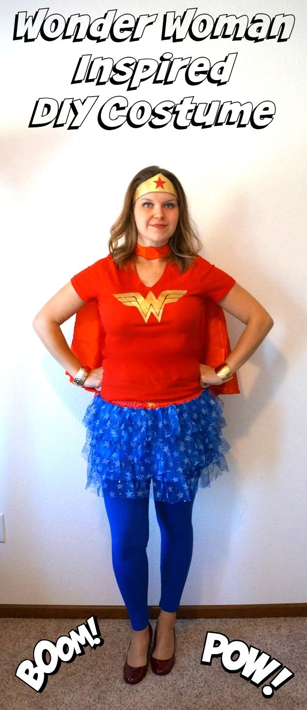 DIY Wonder Woman Inspired Costume tutorial and shopping list
