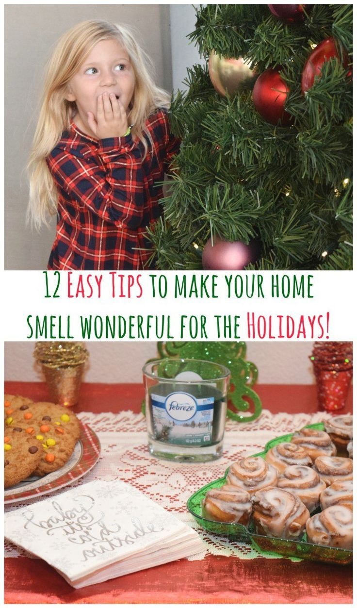 Make your home smell wonderful for the holidays & avoid the #12Stinks with Febreze! Check out the video: http://bit.ly/2eohV3B #ad