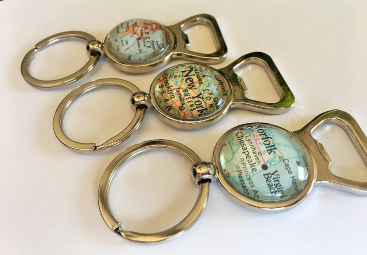 A personal favorite from my Etsy shop https://www.etsy.com/ca/listing/520725414/custom-map-bottle-opener-keychain