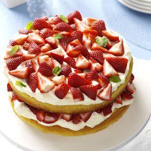 Deluxe Strawberry Shortcake Recipe | Taste of Home