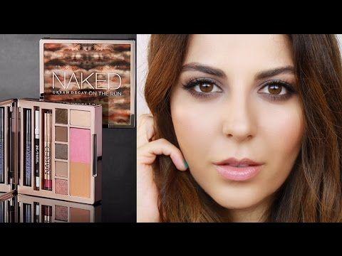 Day To Night Smokey Eye: Naked On The Run Palette   Sona Gasparian - YouTube