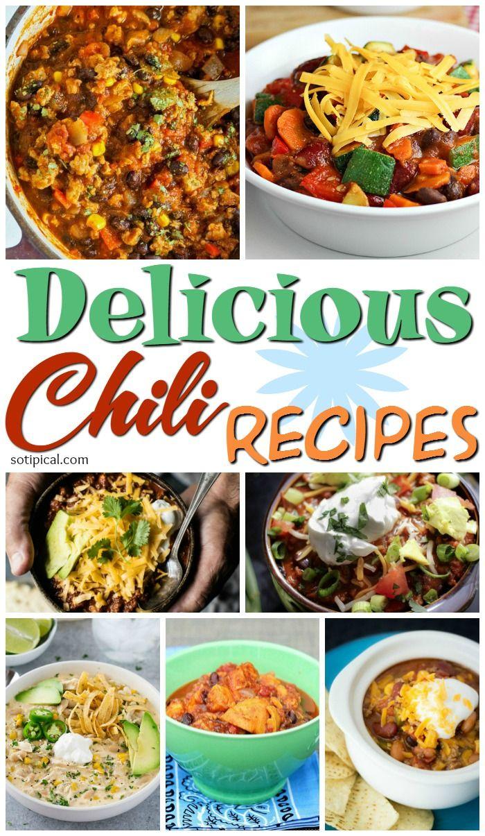 26 Chili Recipes - So TIPical Me