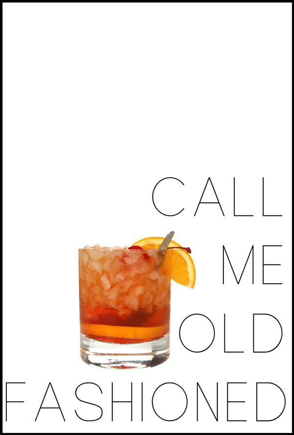 Call me Old Fashioned: a recipe for a Wisconsin Old Fashioned using Brandy.