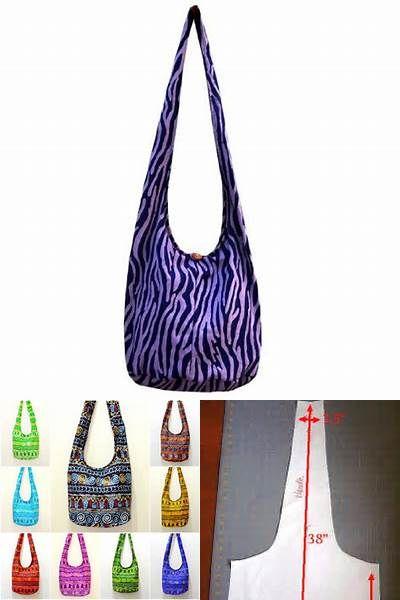 Fabric Hobo Bag Pattern Free Bing Images