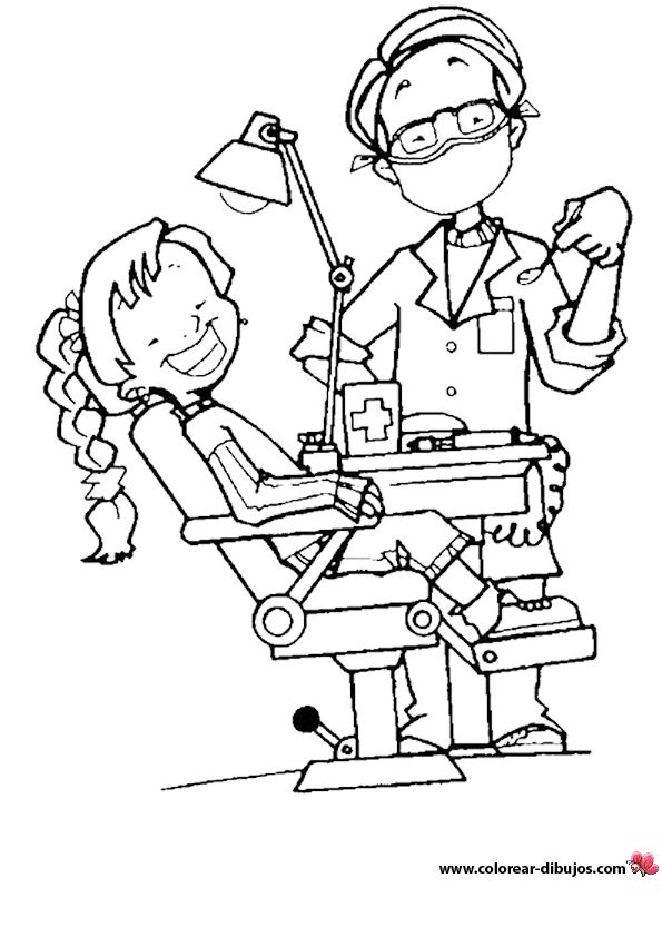 medical coloring pages for children - photo#40