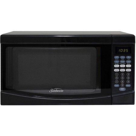 Sunbeam 0.7 CuFt 700 Watt Microwave Oven SGKE702, Black - Digital Timer and Clock >>> Insider's special review you can't miss. Read more  : Small Appliances