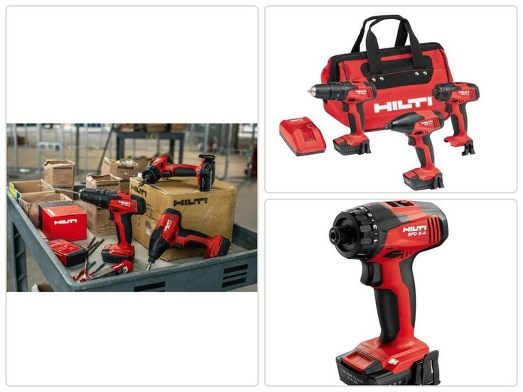 #Cordless #Rotary #Impact #Driver Combo Kit Impact Driver/Drill Driver with Adapter #Hilti