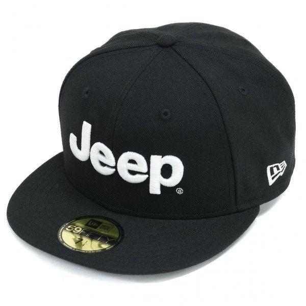 Jeep® × NEW ERA® 59 (フラットバイザーキャップ) BLACK #Jeep #NEWERA #ニューエラ