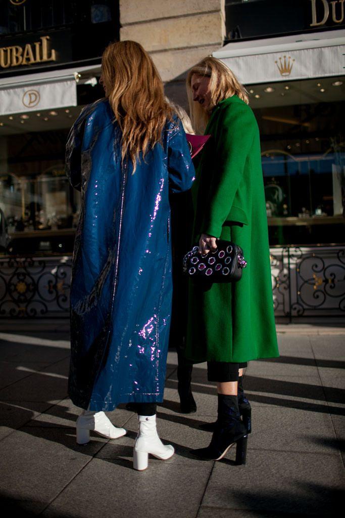 Follow Rent a Stylist https://nl.pinterest.com/rentastylist/ Street Style Paris Couture Spring 2016