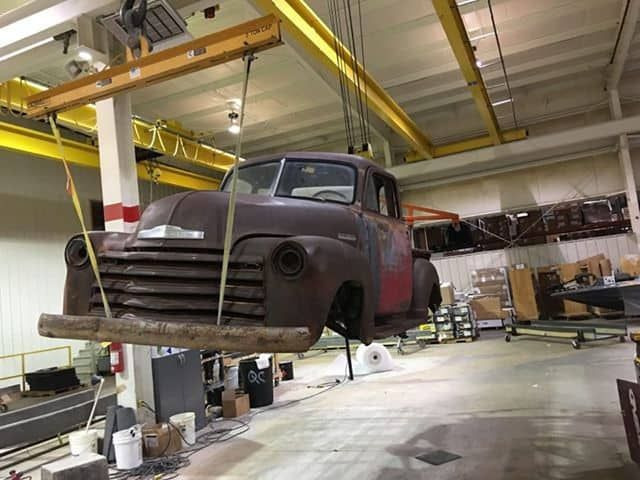 1947 54 Chevrolet 3100 Widebody Stretch Chevy Ssr Chassis Swap In 2020 Chevy Ssr Chevrolet 3100 Chevy