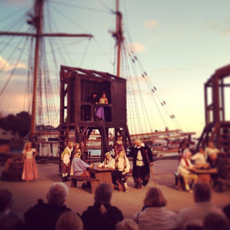Teater på Korsør havn