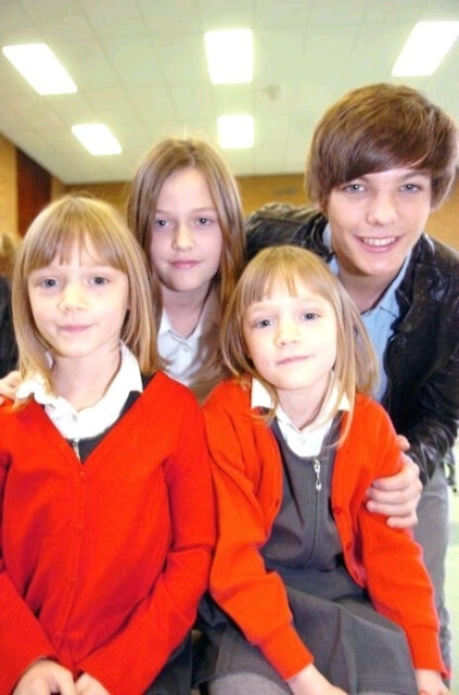 lou with felicite, daisy, and phoebe.